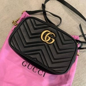 Gucci - Marmont Matelasśe Bag